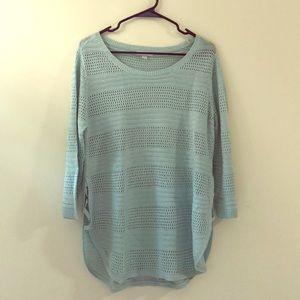 New York and Company Hi-lo knit tunic